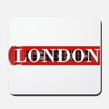 London Red Telephone Box Mousepad
