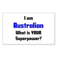 i am australian Stickers