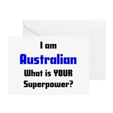 i am australian Greeting Card