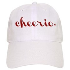 Cheerio in Red Baseball Cap
