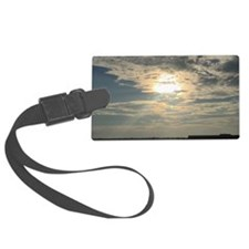 glorious sun and clouds Luggage Tag