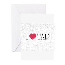 Cool Tap dancing Greeting Cards (Pk of 20)