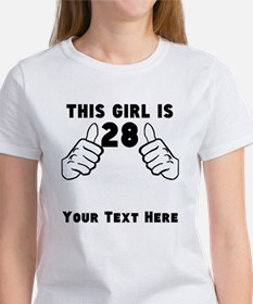 This Girl Is 28 T-Shirt