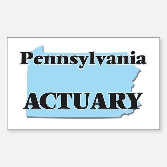 Pennsylvania Actuary Decal