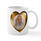 Pope francis Coffee Mugs