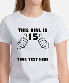 This Girl Is 15 T-Shirt