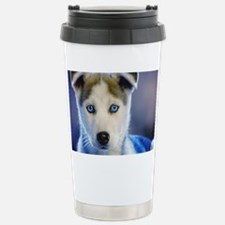 HUSKY PUPPY Travel Mug