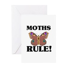 Cute Lepidoptera Greeting Card