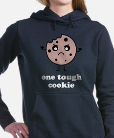Cute One tough cookie Women's Hooded Sweatshirt