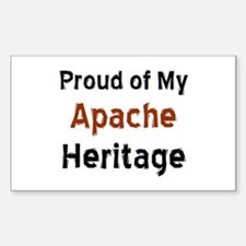 apache heritage Sticker (Rectangle)