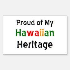 hawaiian heritage Decal