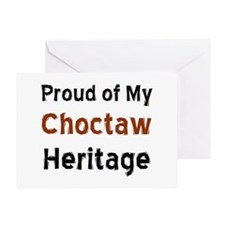 choctaw heritage Greeting Card