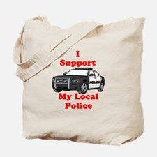 Support Local Police Tote Bag