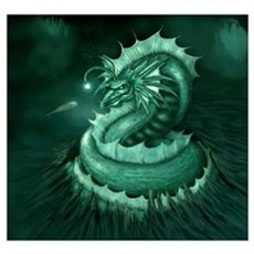 Sea Serpent Poster