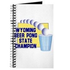 Wyoming Beer Pong State Champ Journal