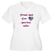 Proud Aunt/American Sailor T-Shirt