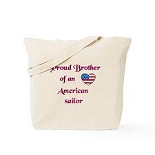 Proud Brother/American Sailor Tote Bag