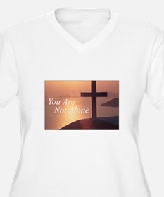 You Are Not Alone - Cross T-Shirt