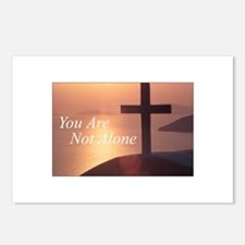 You Are Not Alone - Cross Postcards (Package of 8)