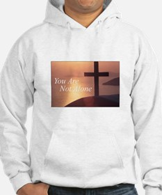 You Are Not Alone - Cross Hoodie