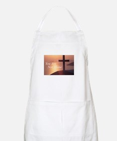 You Are Not Alone - Cross BBQ Apron