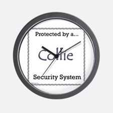 Collie Security Wall Clock