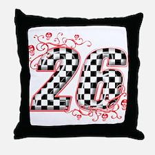 Cute Speedway Throw Pillow