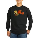 Autumn Long Sleeve Dark T-Shirts