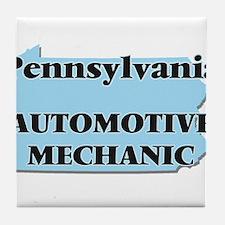 Pennsylvania Automotive Mechanic Tile Coaster