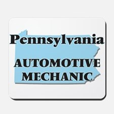 Pennsylvania Automotive Mechanic Mousepad