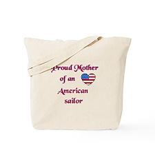 Proud Mother/American Sailor Tote Bag
