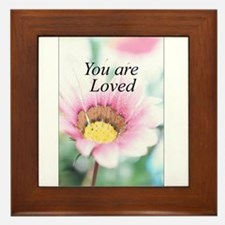 You Are Loved Framed Tile