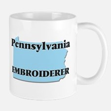 Pennsylvania Embroiderer Mugs
