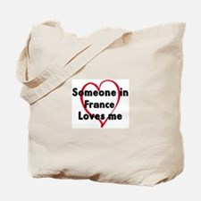 Loves me: France Tote Bag