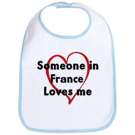 Loves me: France Bib
