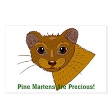 Pine Martens are Precious Postcards (Package of 8)