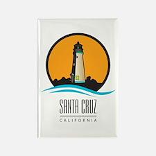 Santa Cruz California CA Light Ho Rectangle Magnet