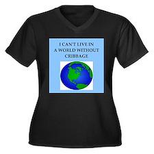 cribbage Plus Size T-Shirt