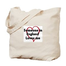 Loves me: England Tote Bag