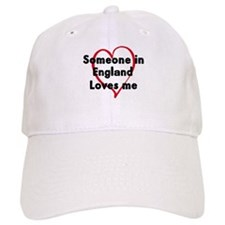 Loves me: England Baseball Cap