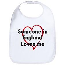 Loves me: England Bib