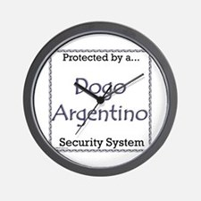 Dogo Security Wall Clock