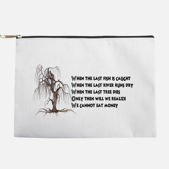 When The Last Tree Dies Makeup Bag