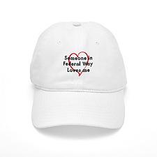 Loves me: Federal Way Baseball Cap
