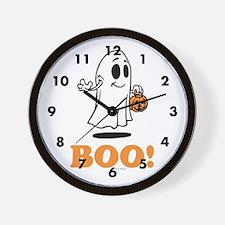 Boo Wall Clock