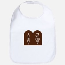 Ten Commandments Bib