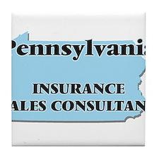 Pennsylvania Insurance Sales Consulta Tile Coaster
