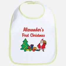 First Christmas Bib