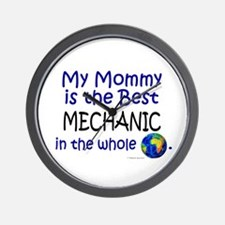 Best Mechanic In The World (Mommy) Wall Clock