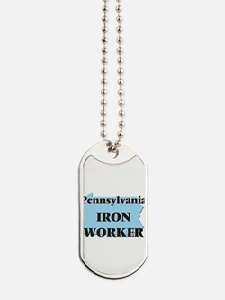 Pennsylvania Iron Worker Dog Tags